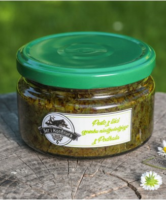 Pesto z liści czosnku...