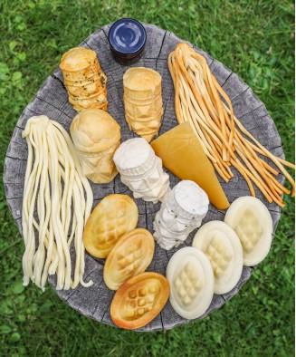 Zestaw degustacyjny serów
